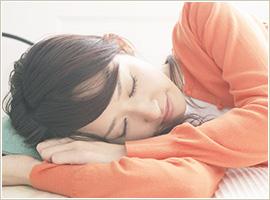 ぐっすり眠るためには、冷えを解消することが先決です